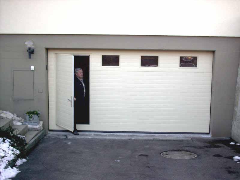 decken sektionaltore aus holz oder stahl als garagentore